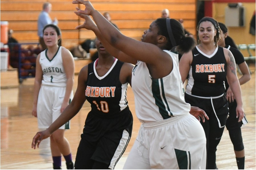Women's Bayhawks Basketball team falls to North Country.