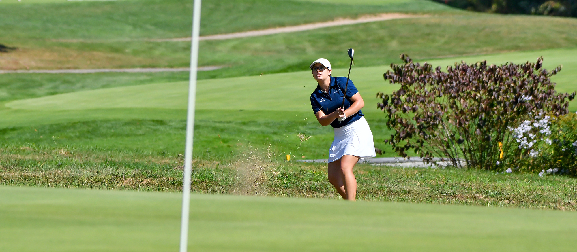 Action photo of Lyons golfer, Stephanie Spitzer
