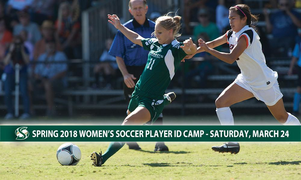 WOMEN'S SOCCER HOSTS PLAYER ID CAMP ON SATURDAY, MARCH 24