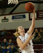 Women's Hoops Defeats Portland 94-90