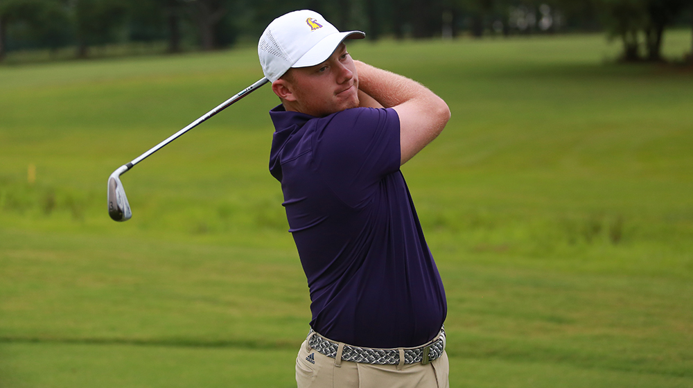 Golden Eagle men's golf team tied for eighth following first day of Murray State Invitational