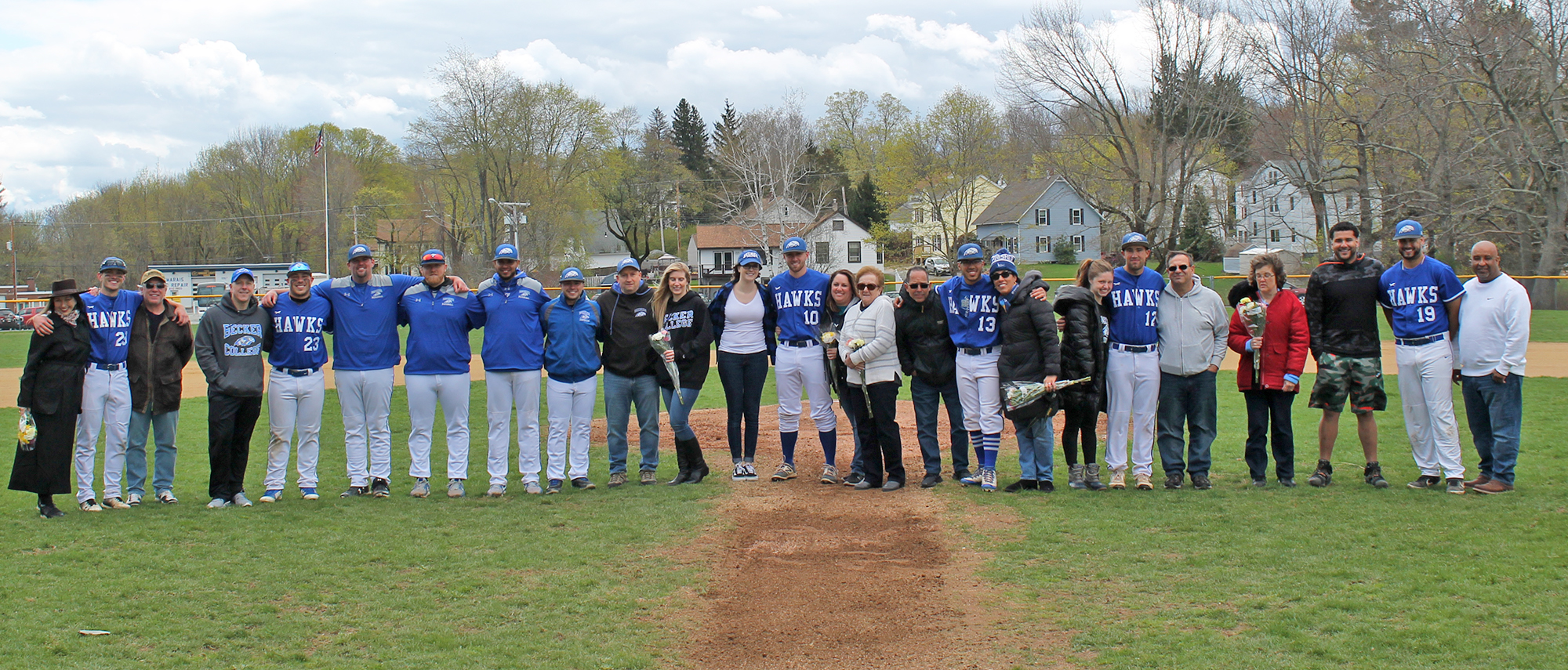 Ventres Hits Walk-Off Homer to Help Hawks Sweep Bulldogs on Senior Day