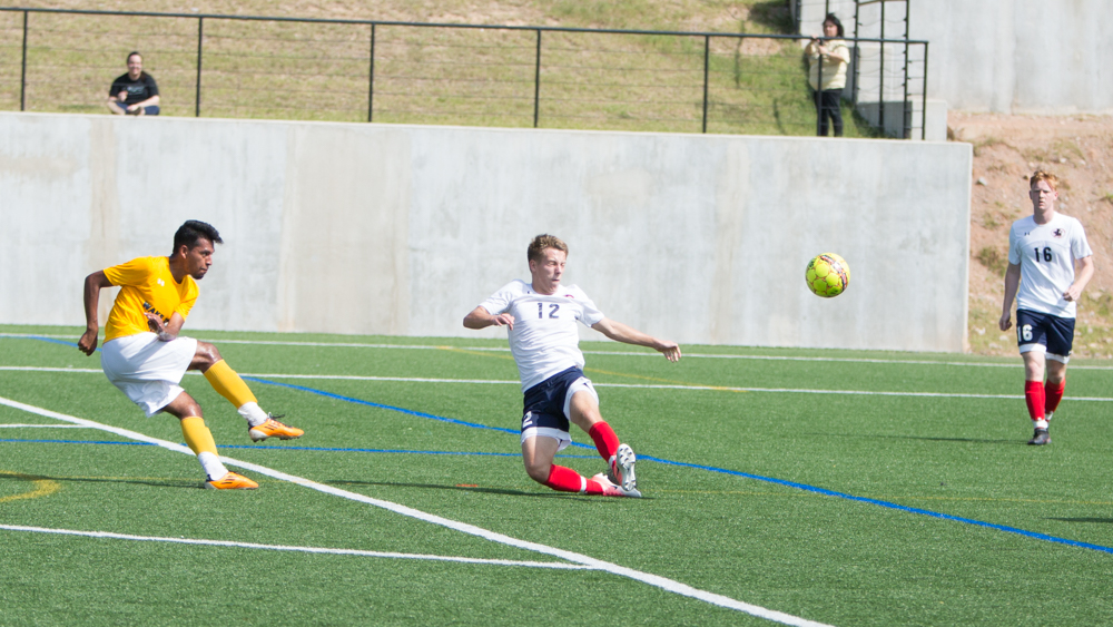 Men's Soccer Lets One Slip Away