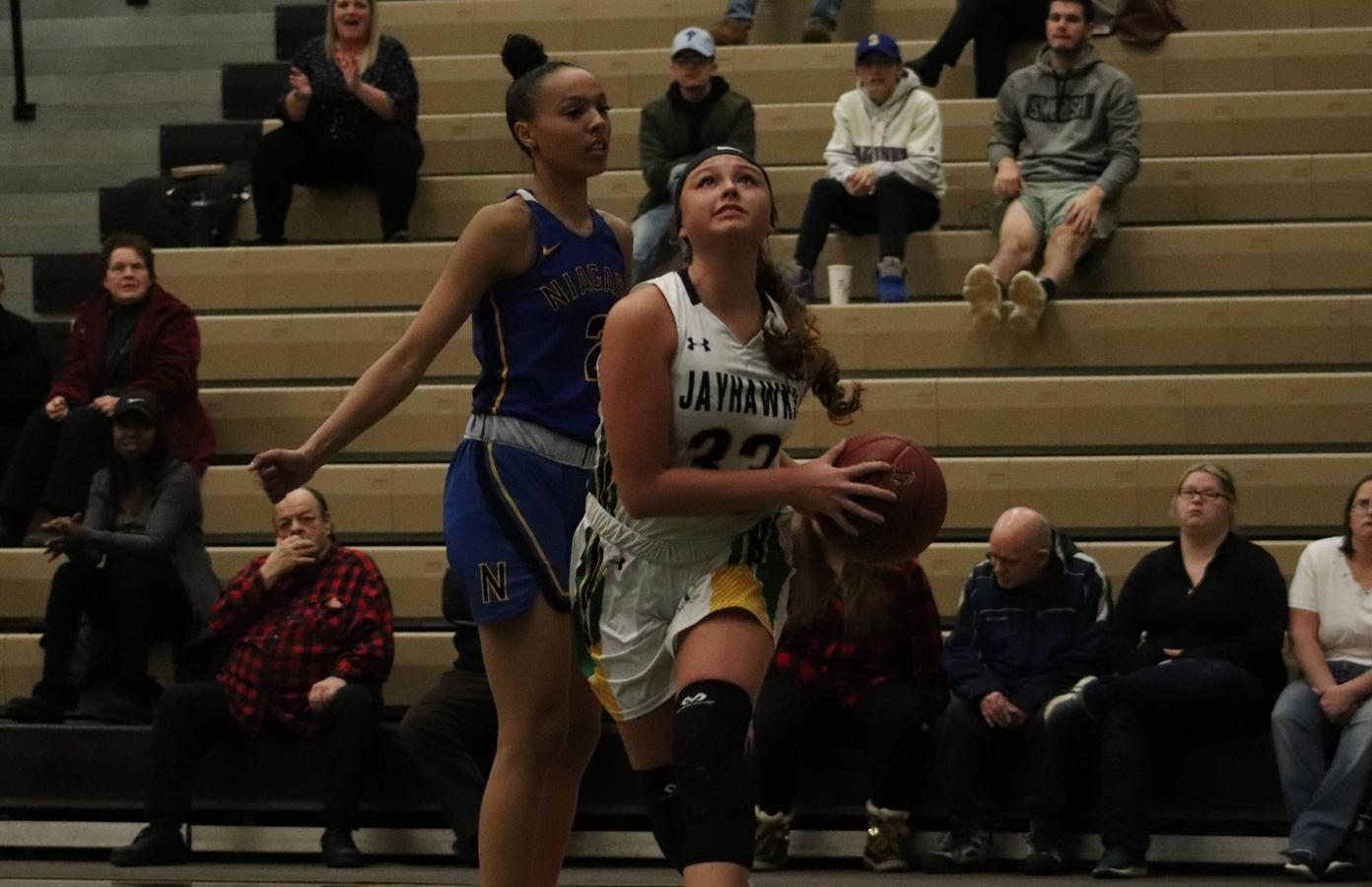 Jimerson nears double-double in loss to Mercyhurst North East