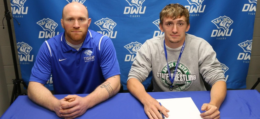 DWU wrestling signs state champion