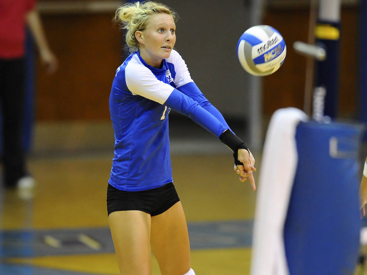 Volleyball Drops Match to Iona at Columbia Tournament