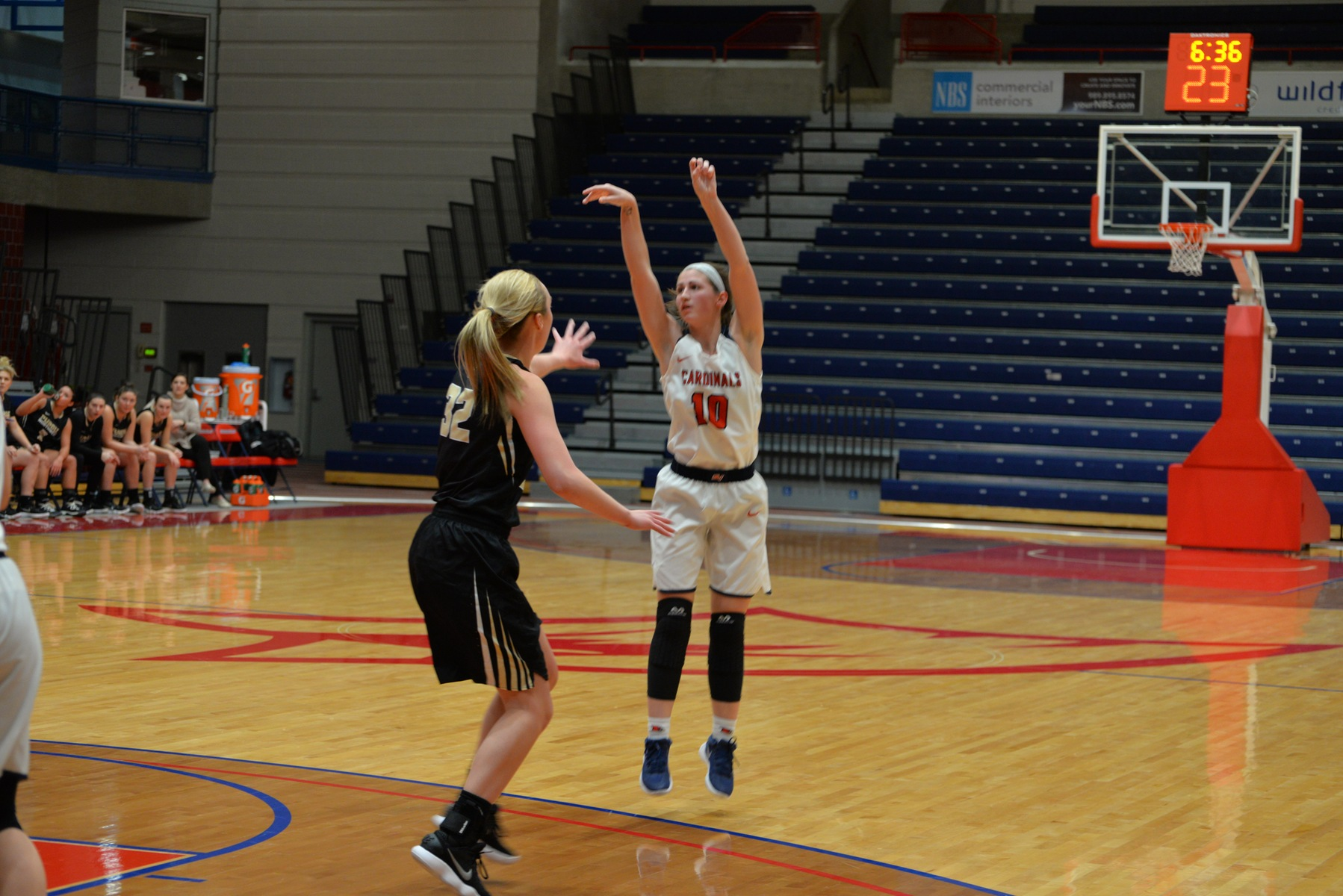 Three Cardinals Tallied Double-Digit Figures in Win Over Davenport