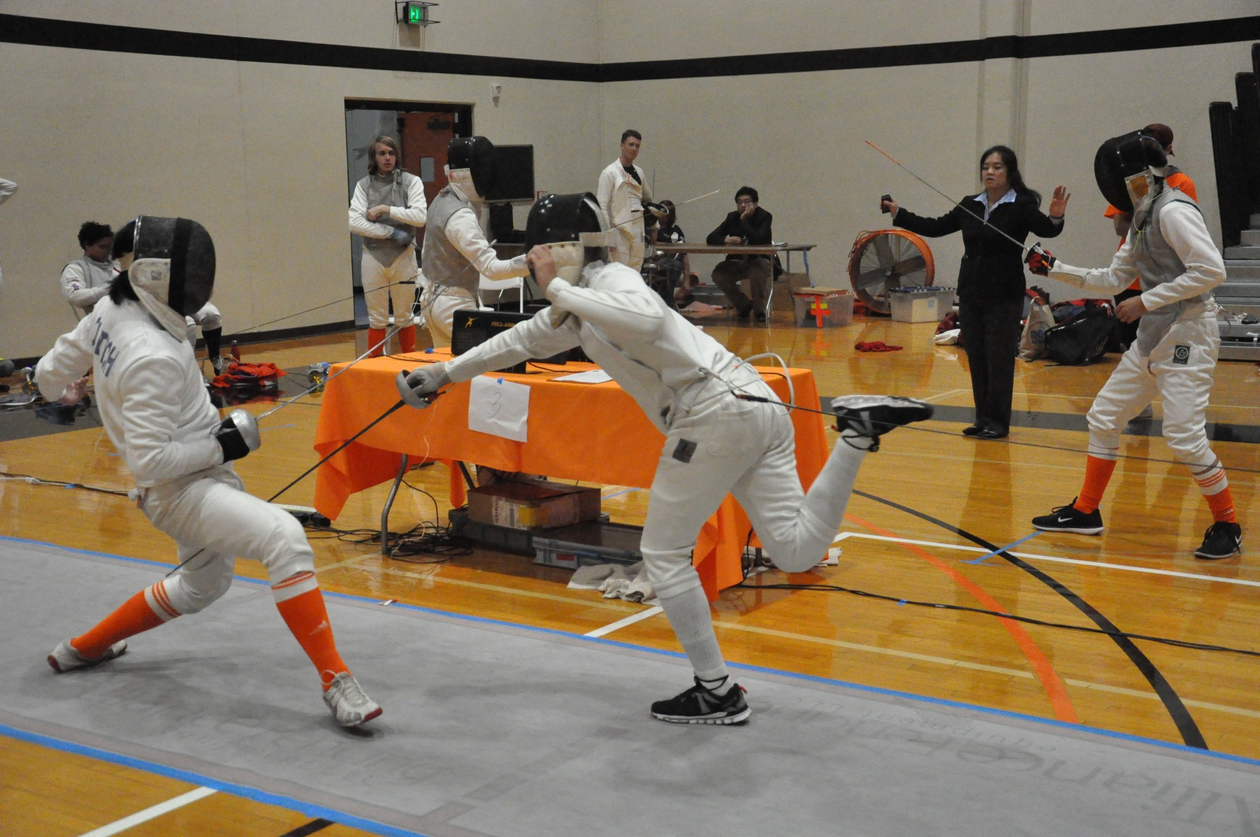 Men's and Women's Fencing Primed to Take Step Forward