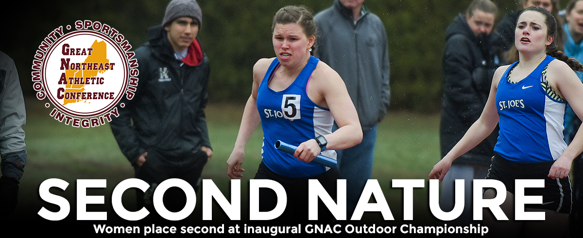Women Finish Second at GNAC Outdoor Championship