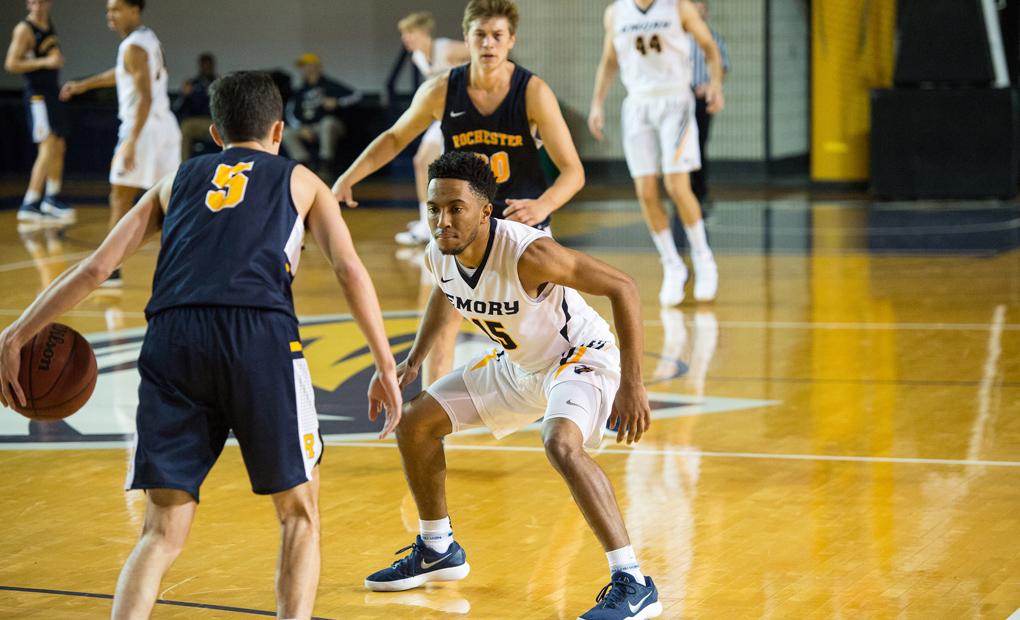 No. 20 Emory Men's Basketball Hosts UAA Foes Carnegie Mellon And Case Western Reserve