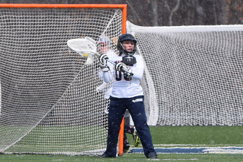 Women's Lax Upended by Ursuline