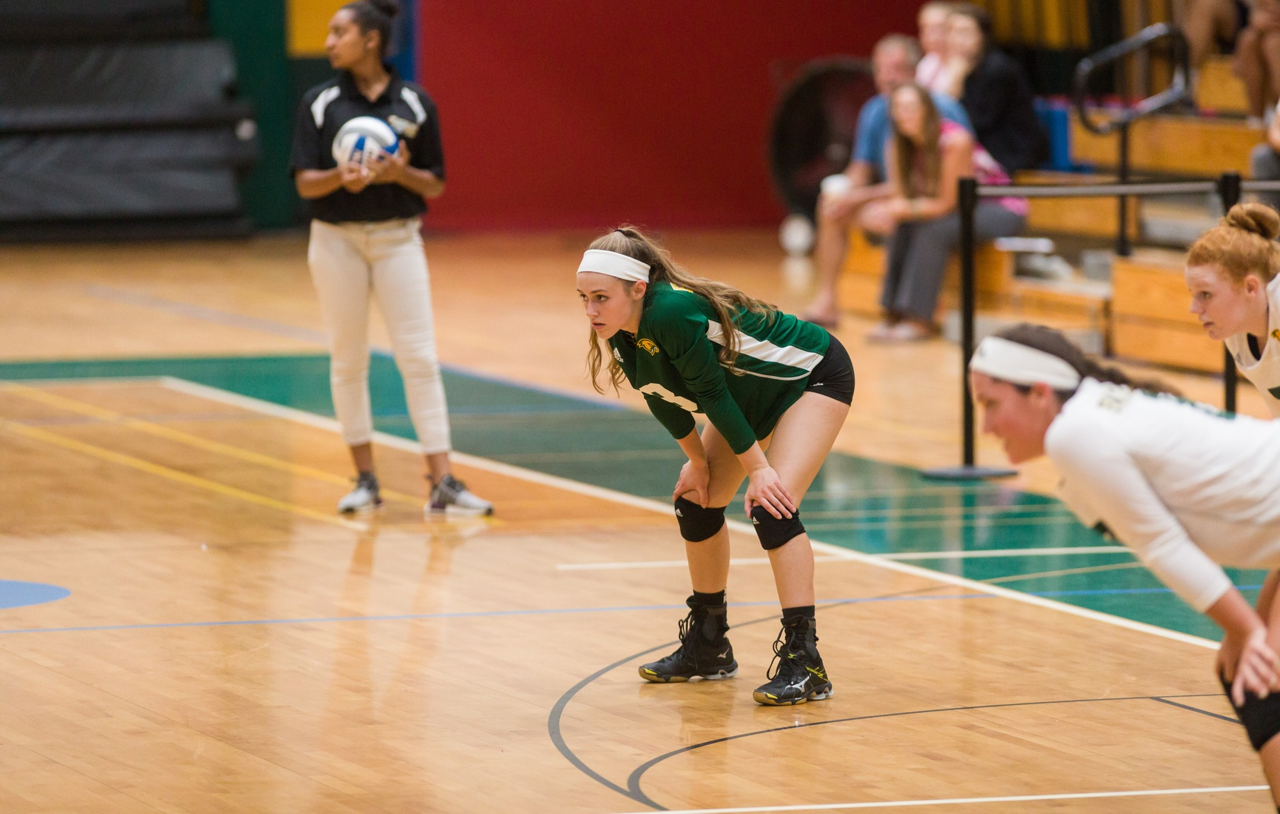 Falcons Splits Tri-Match With New England College & Northern Vermont-Lyndon