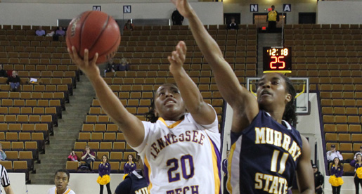 Shots don't fall as Tech handed OVC home loss by Murray State