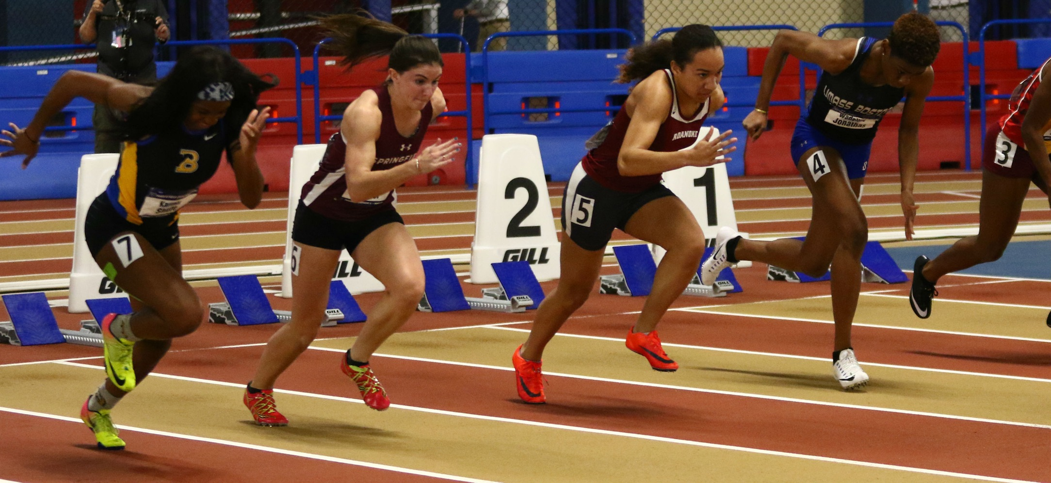 Luscier Earns Third-Consecutive All-America Honor in 60 Meter Dash at NCAA Division III Indoor Track and Field Championships