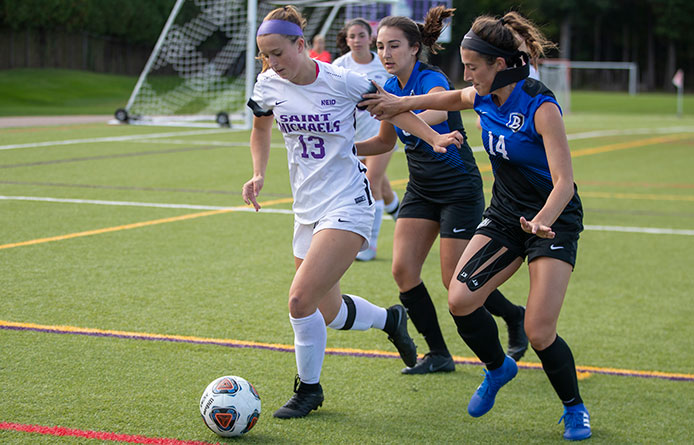Women's Soccer Loses 1-0 Decision to Regionally-Ranked Saint Rose