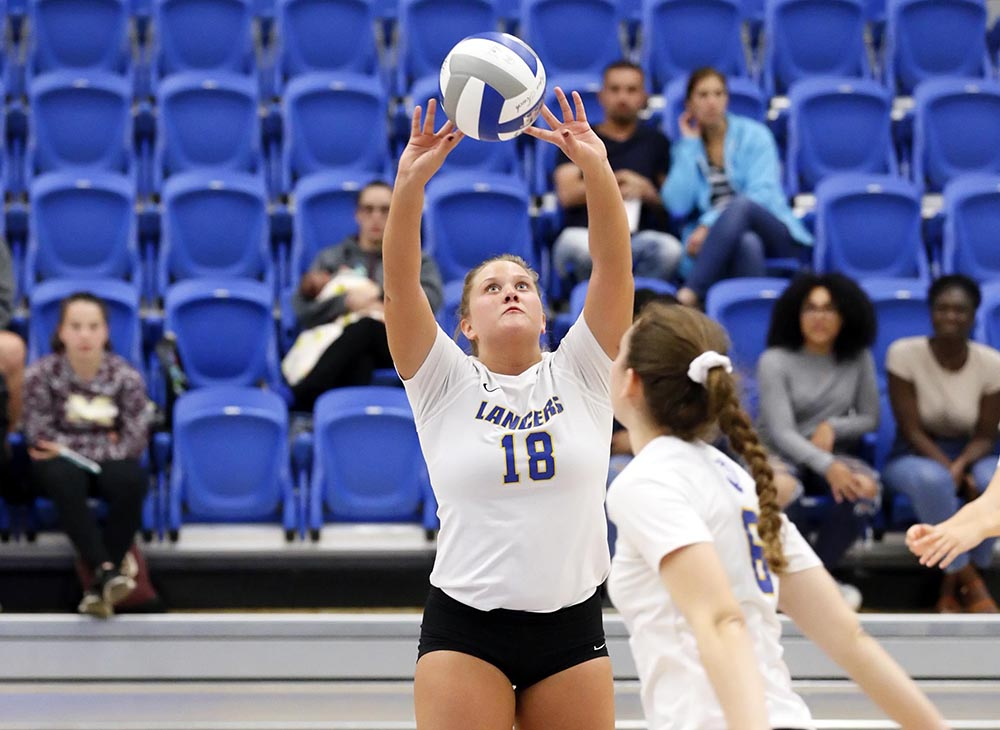 Nolan Surpasses 2,000 Assists as Volleyball Sweeps Westfield State