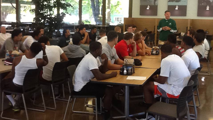 NEWCOMERS ARRIVAL MARKS START OF FOOTBALL SEASON