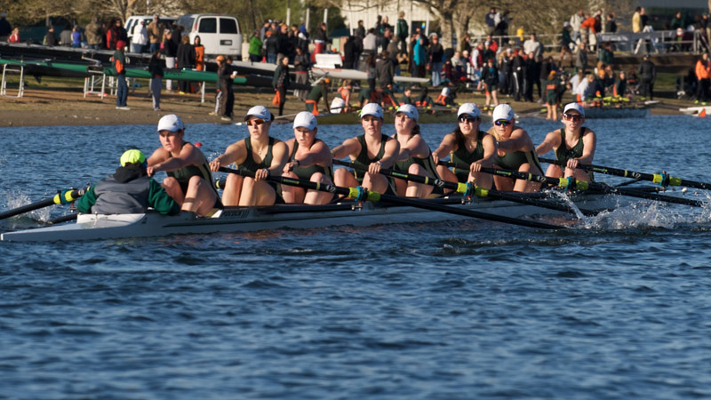 ROWING WRAPS UP THE FIRST DAY OF THE LAKE NATOMA INVITATIONAL
