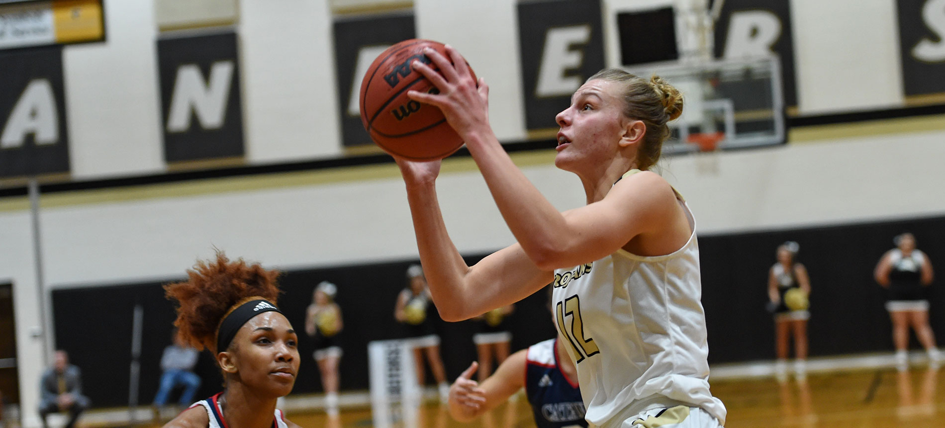 Mollenhauer and Easter Combine for 47 Points to Lift Anderson over Lenoir-Rhyne; 77-65