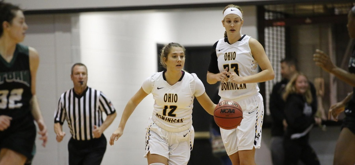 Late Push Sends Women's Basketball Past Oilers