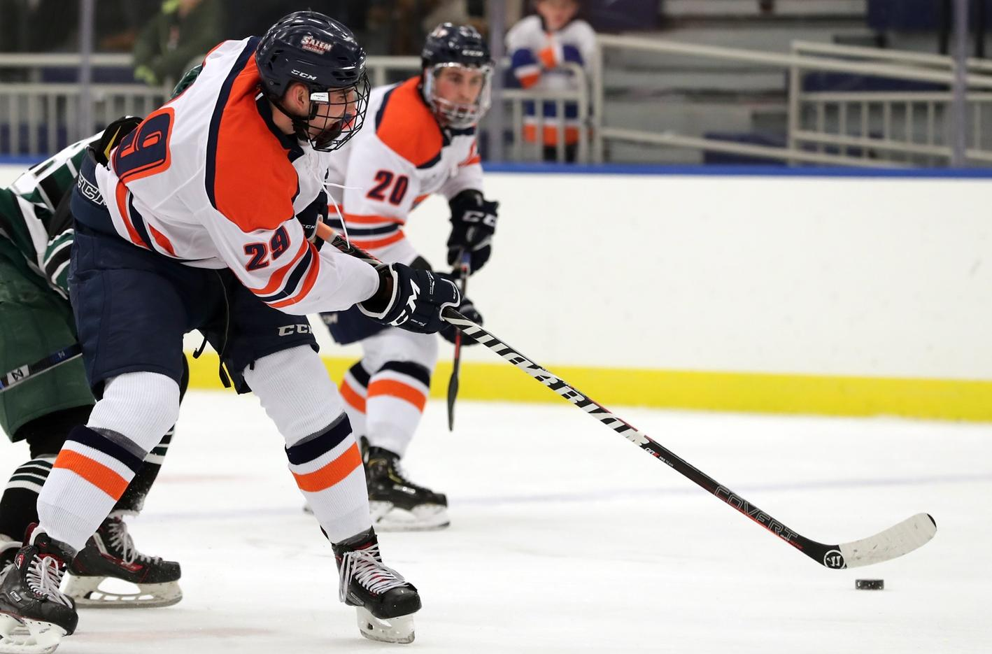 McGwin Scores Twice in Salem State's 3-2 Victory