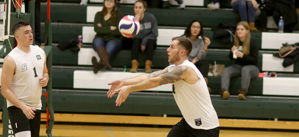 Mustangs post 3-0 victory over Sage in volleyball play