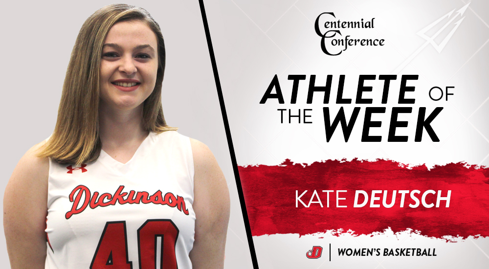 Deutsch Earns Second CC Player of the Week Honor