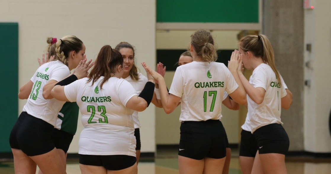 Volleyball Falls to John Carroll in Straight Sets on Senior Day