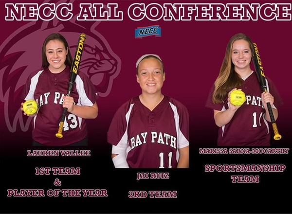 Bay Path student-athletes receive NECC All-Conference and Sportsmanship  Awards