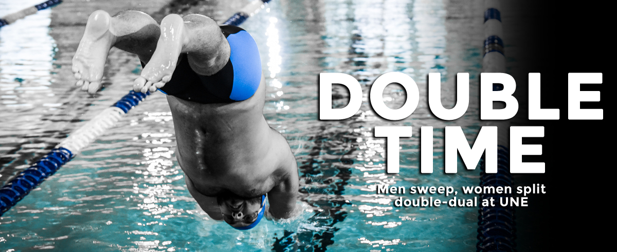 Men Sweep, Women Split in UNE Double-Dual