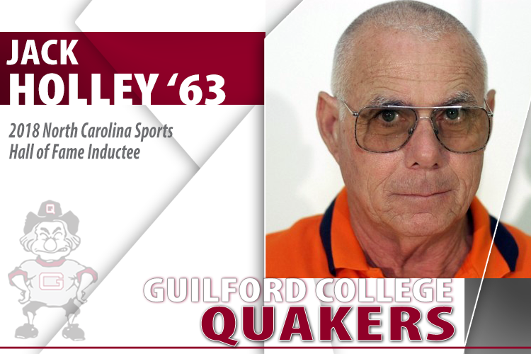 Coaching Legend Jack Holley '63 Earns N.C. Sports Hall of Fame Induction