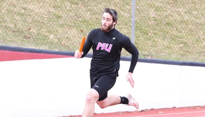 Men's outdoor track and field participates in the Baldwin Wallace Last Chance Meet