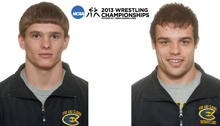 Behnke Leads Two Blugold Wrestlers at NCAA Championship