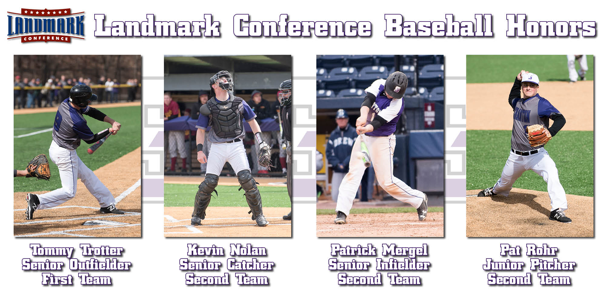 Trotter Leads Scranton's Four All-Landmark Conference Baseball Selections