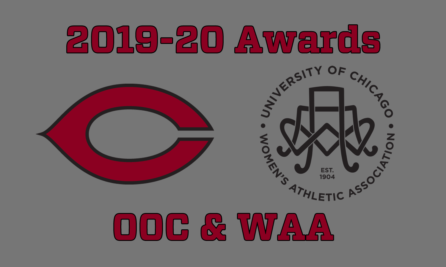OOC and WAA Announce 2019-20 Award Winners