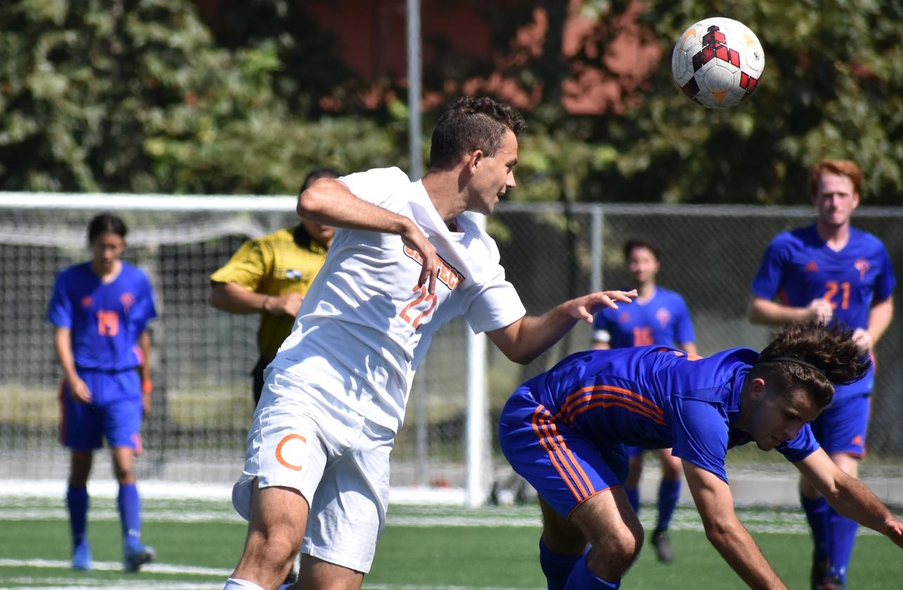 Men's Soccer Dominant in First Win Since 2011