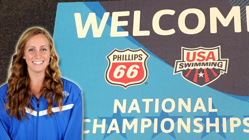Maddy Garber Competes at USA Swimming National Championships