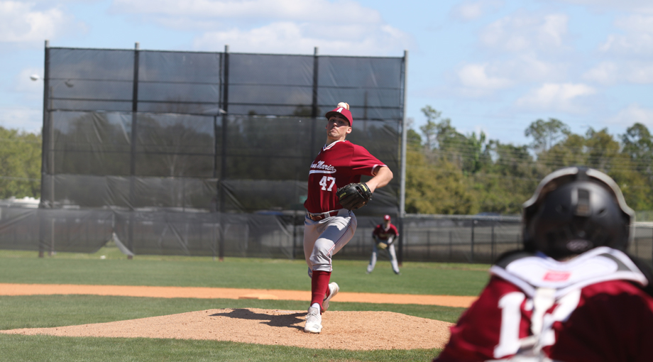 Mazec's Shutout Leads Baseball to Sweep Over Chargers