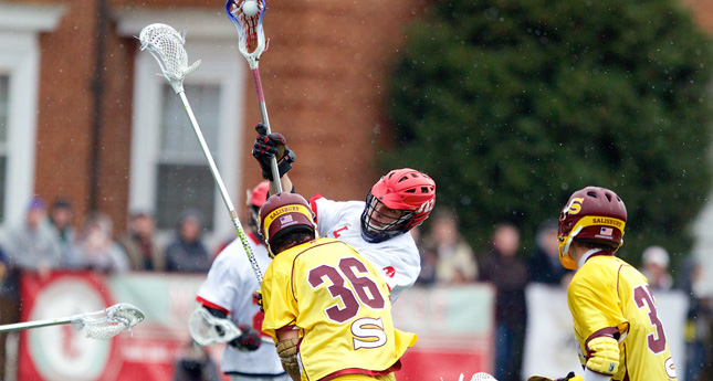 Vin Curran Nets Game Winner as LC Men Take Down #1 Salisbury 13-12