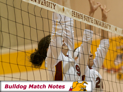 Ferris State Women's Volleyball Weekly Notes (Matches 28-29)