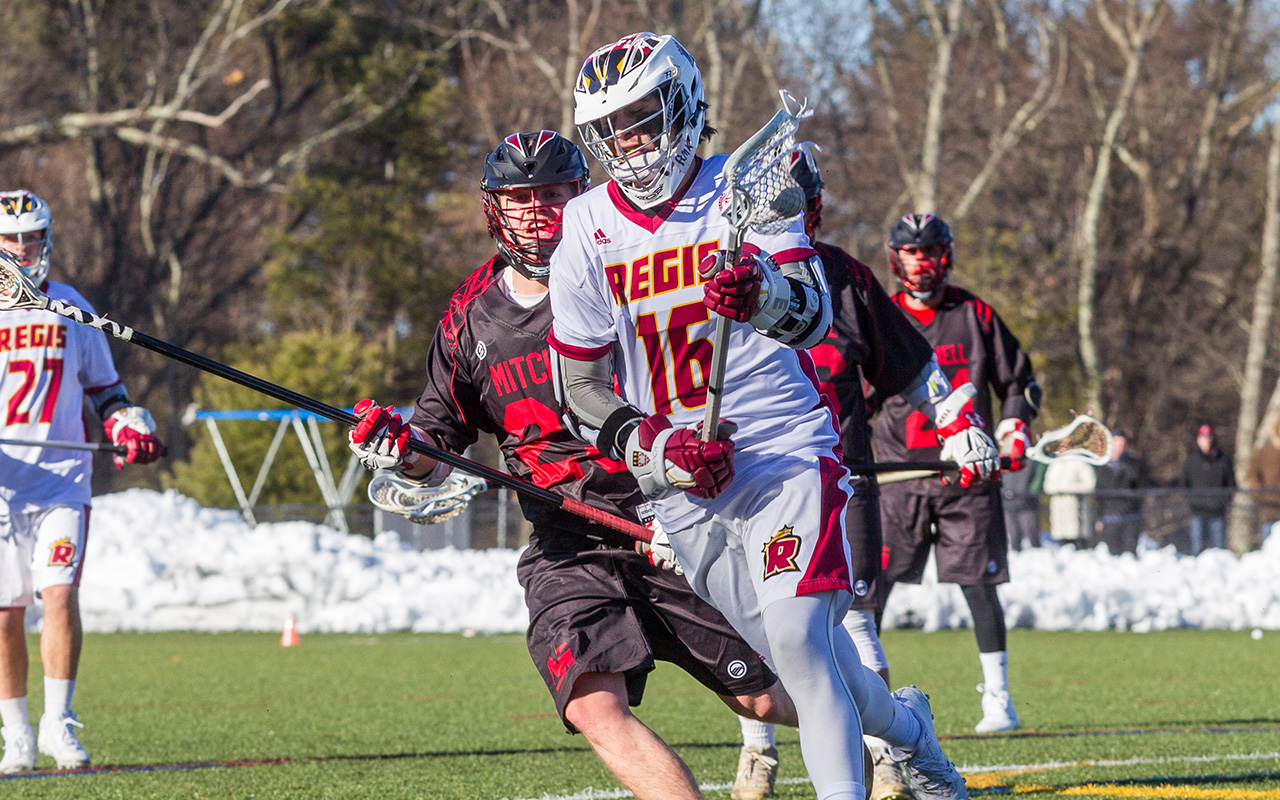 Men's Lacrosse Falls In GNAC Action at Norwich