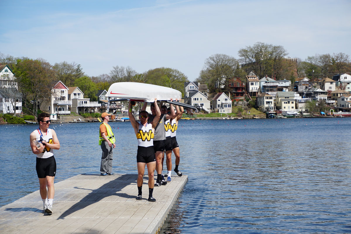 Rowing Enjoys Historic Day at New England Championships