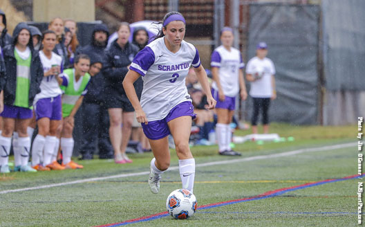 Freshman Erica Licari broke a scoreless tie with a goal in the 58th minute on Saturday.