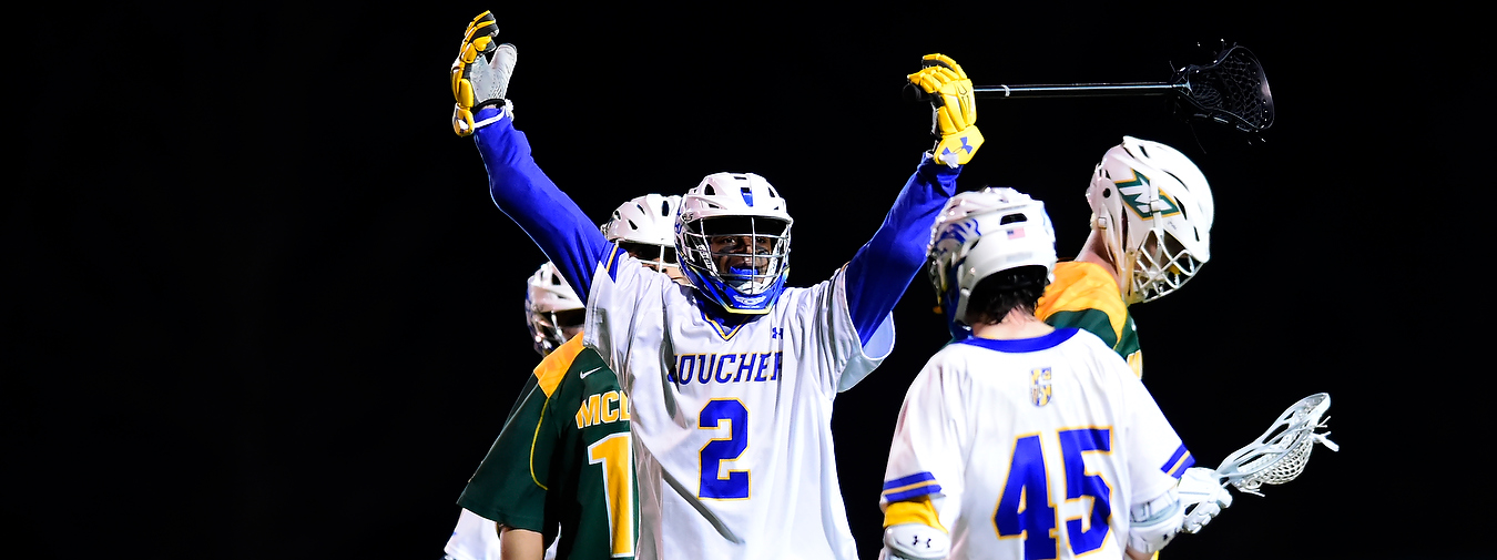 Evans Scores Eventual Game-Winner, Records Hat Trick To Propel Goucher Men's Lacrosse Past Lebanon Valley, 11-10