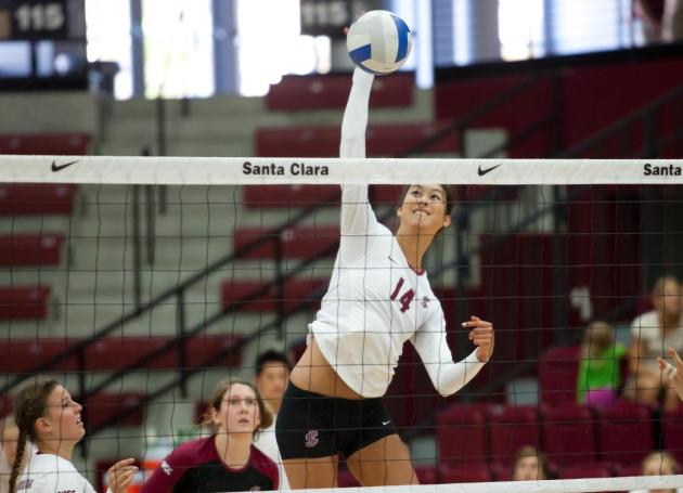 Volleyball Finishes Season at USD on Thursday and vs. Saint Mary's on Saturday
