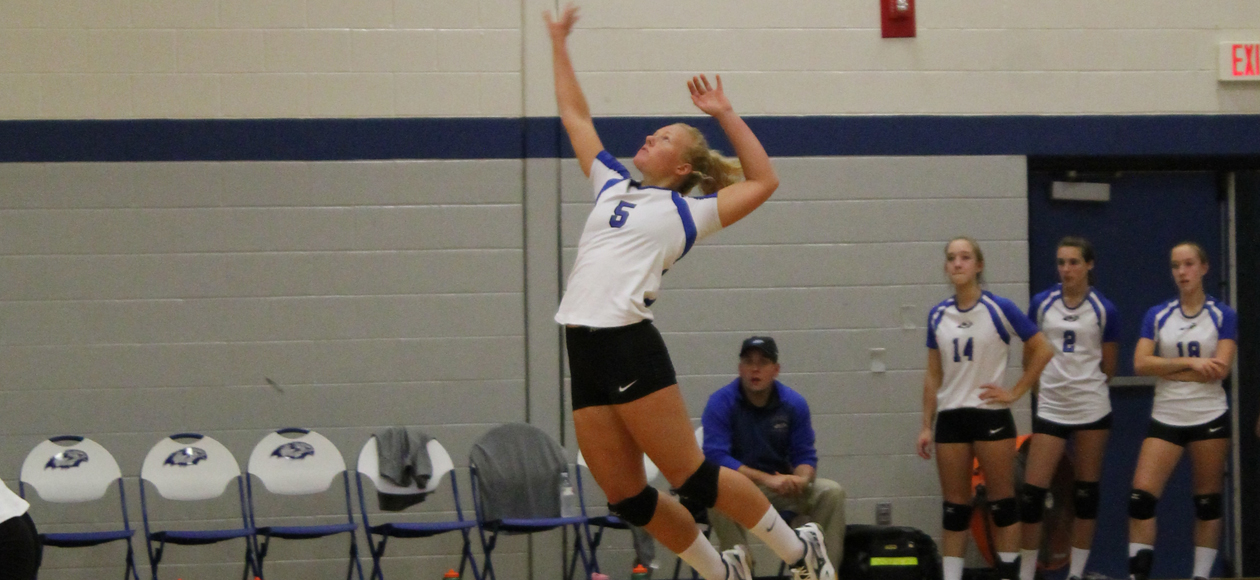 Volleyball's Season Comes To An End With NECC Tournament Loss