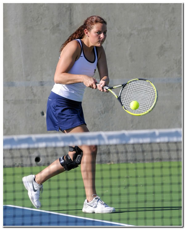 Lions' women's tennis team posts 7-2 road win at Earlham College