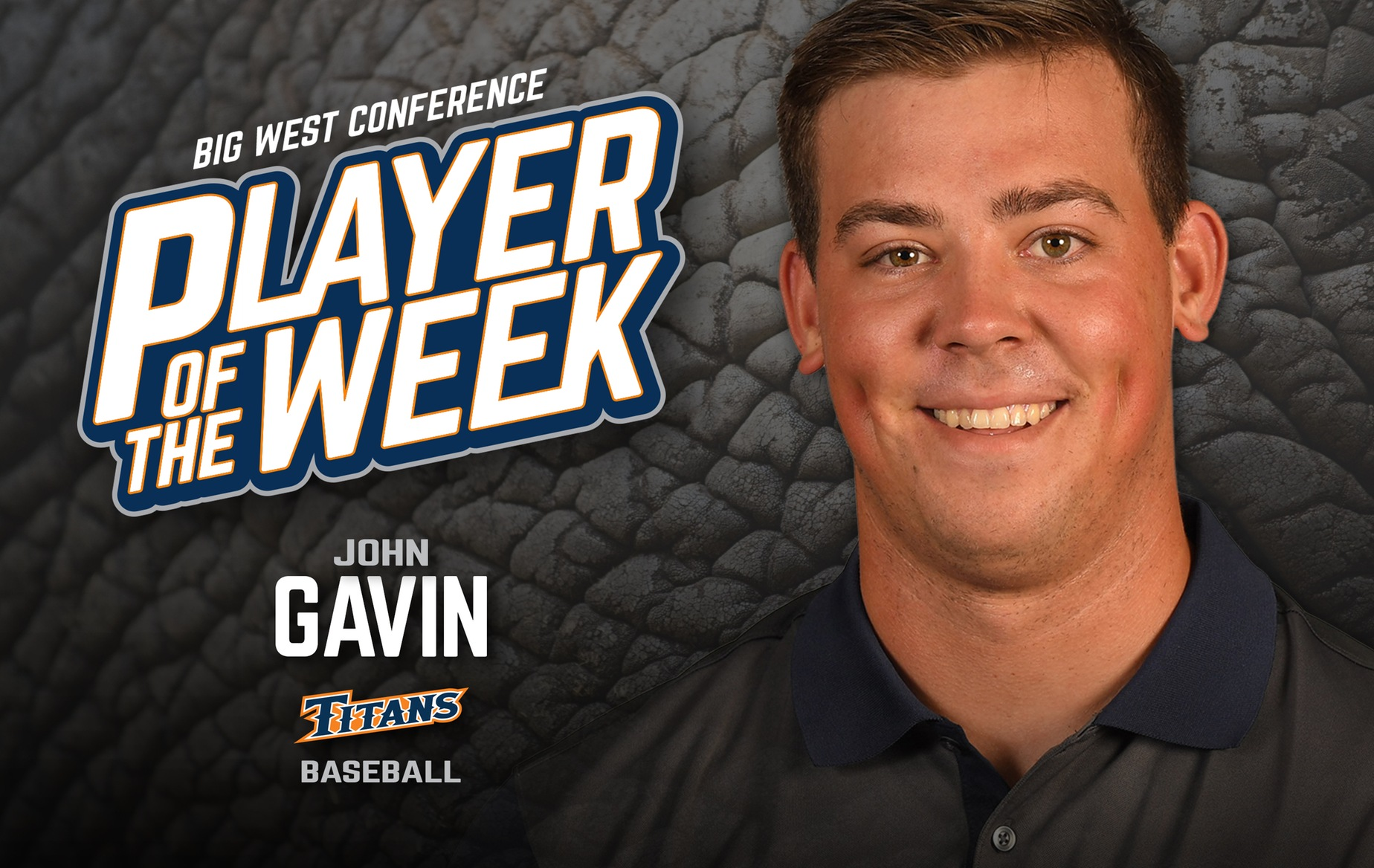 Gavin Earns Big West Pitcher of the Week Honors