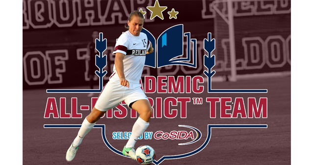 Ben Thompson Represents Redlands on the CoSIDA Academic All-District Men's Soccer Team
