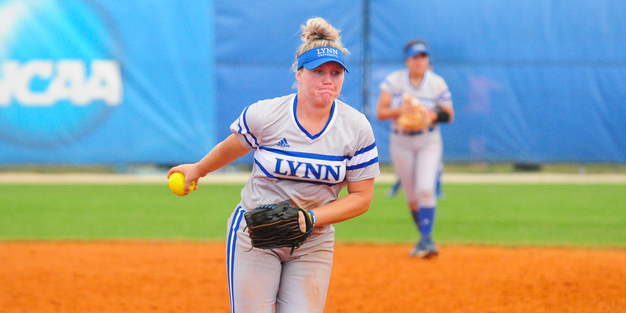 Sheffield Marches on Saints in Softball Split